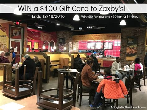 Zaxby S Gift Card - zaxby s gift card lamoureph blog