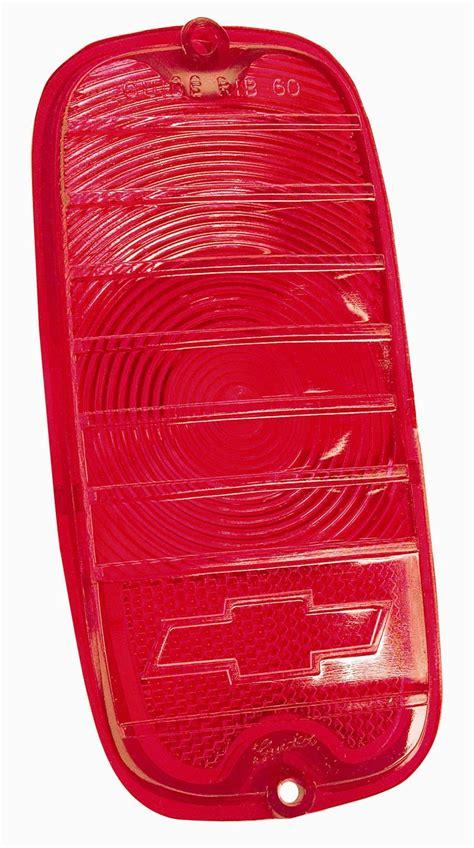 red plastic tail light material plastic tail l lens fleetside w bowtie red 1960 66