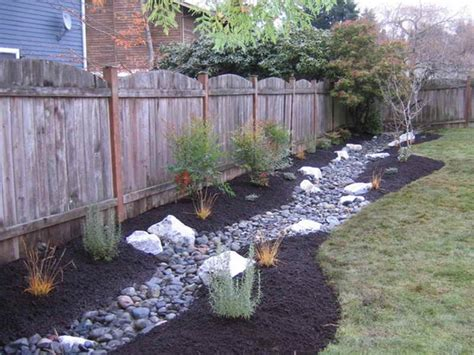 drainage swale landscaping images