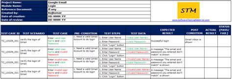 24 images of test scenario template excel infovia net