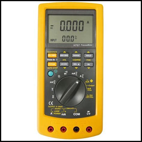 Multimeter Fluke 787 dc ma sourcing simulate process calibrator multimeter