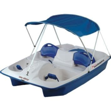 sun dolphin sun slider pedal boat with canopy sun dolphin sun slider 5 seated pedal from dick s sporting