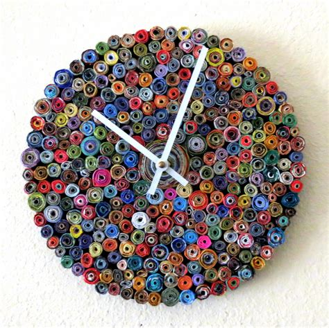 Creative Ideas Handmade - 26 extremely creative handmade wall clocks style motivation