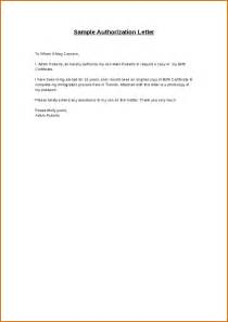 Authorization Letter Format For Cash Deposit 9 Authorization Letters Authorizationletters Org