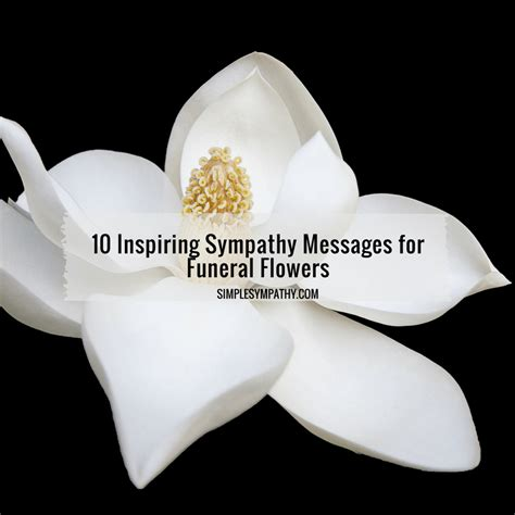 sympathy message 10 inspiring sympathy messages for funeral flowers