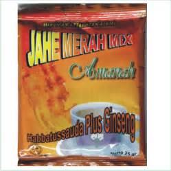Jahe Merah Mix Amanah 1 Renceng 10 Pcs 25 Gr abu rahma herbal