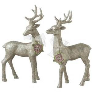 snowflake table top decorations white reindeer table decorations photograph reindeer w