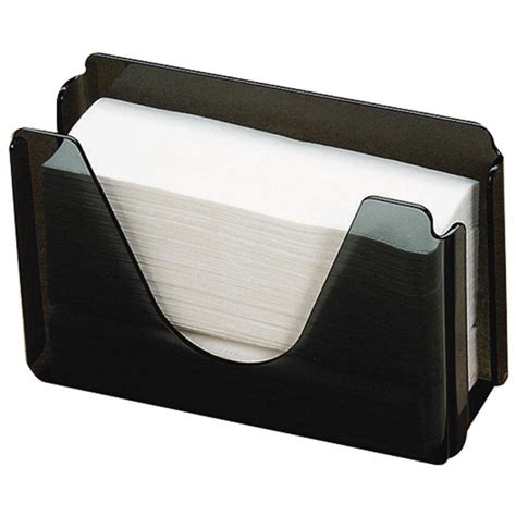 Folded Paper Towel Holder - pacific smoke c fold or multi fold countertop