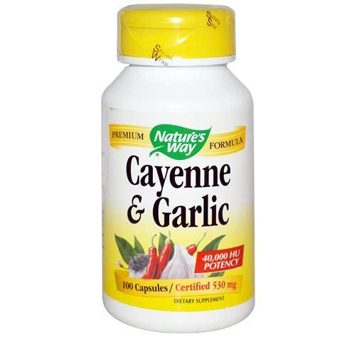 Garlic 77 Kapsul Best Quality Product nature s way premium formula cayenne garlic 100 ct