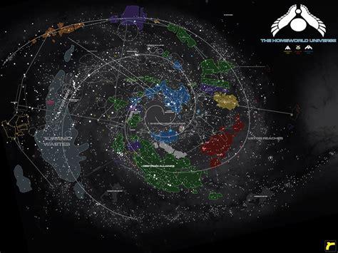 homeworld universe map v 2 by norsehound on deviantart