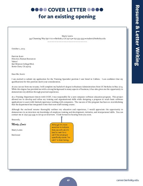 berkeley cover letter uc berkeley how to write a cover letter