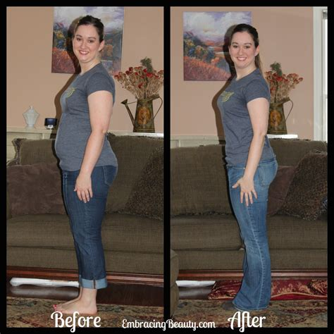 weight loss 1 month before and after month 6 cinchspiration weight loss update