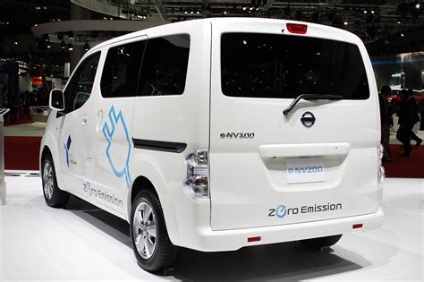 the nissan env200 electric where and when is it for