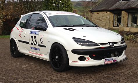 peugeot cars for peugeot 206 race car rally sprint hillclimb track 274 bhp