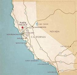 where is napa valley california on a map napa valley airports transportation flight information