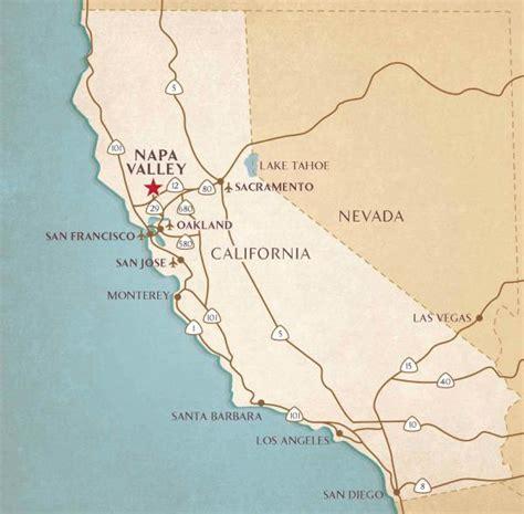 california map napa valley airports near napa valley transportation flight