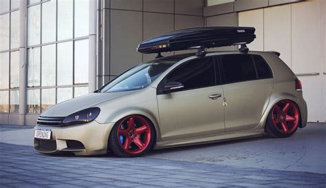 stanced volkswagen golf stanced volkswagen golf gti cars one love