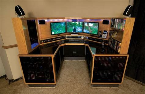 Computer Desk For Gaming by 1 Gaming Pc Set Ups