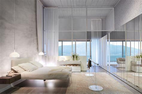 specchio da letto letto fluttua un letto sospeso per sogni leggeri lago