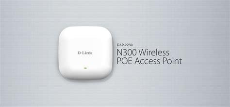 Dlink Dap 2230 Wireless Access Point Ceiling N300 dap 2230 n300 wireless poe access point singapore