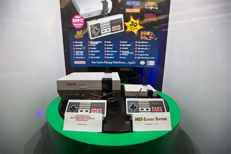 we just saw nintendo s we just saw nintendo s nes classic in person and it is glorious the verge