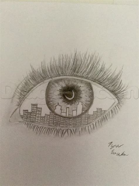 how to draw a eye how to draw a cool eye step by step concept