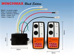 wireless winch remote handset 24v 24 volt ebay
