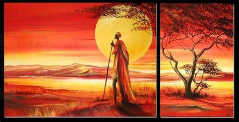 cus on african tablouri pictate manual cu obiceiuri din africa goblen