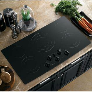 ge profile electric cooktop 36 ge profile series 36 quot built in electric cooktop black
