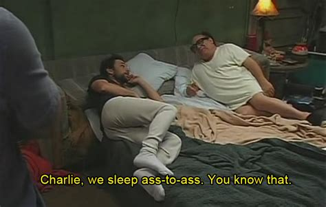 who pooped the bed ass to ass sleeping it s always sunny in philadelphia