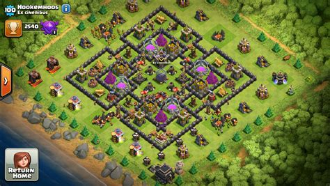 basic layout building guide clash of clans base designer journal page 820