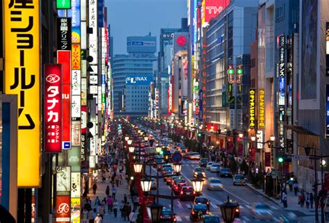 japanese town opinions on tokyo city