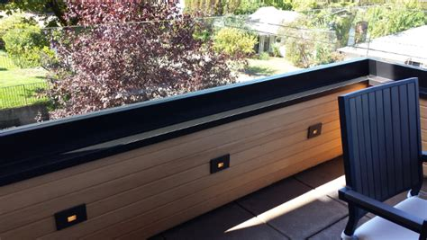 recessed deck lighting balanced electric