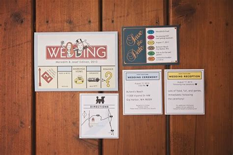 wedding invitation design games 8 adorable and creative wedding stationery ideas