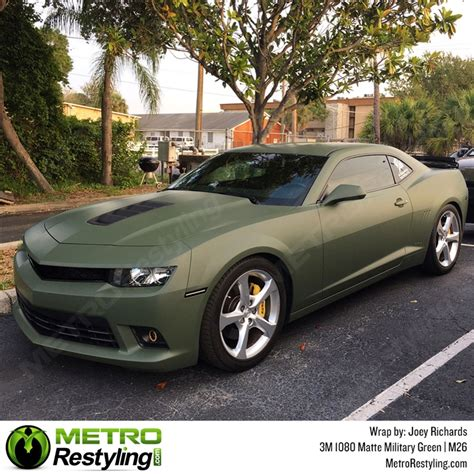 matte green 3m 1080 m26 matte green car wrap vinyl is an