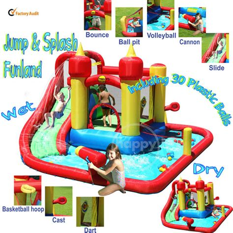 Quality Happy Hop Castle Bouncer 9112 happy hop bouncer 9016 children water slide