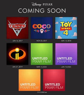 pixar's future film slate 4 original films in