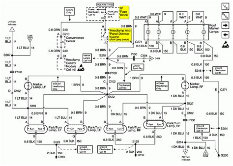 light wiring diagram for 2003 silverado get free
