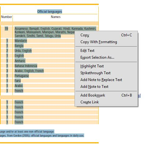 export pdf table to excel how to export to excel