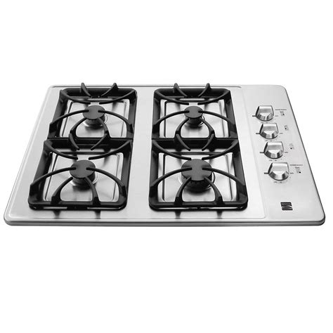 Kenmore Gas Cooktop kenmore 32413 30 quot gas cooktop stainless steel sears outlet