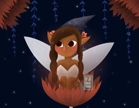 animation, gif, cute, illustration, witch, fairy, witches