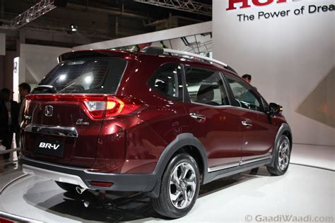 honda brv honda brv br v suv launched features spec price