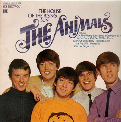 house of the rising sun original artist the animals john steel iconic audio rock and roll hall of fame exclusive