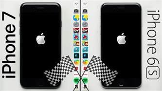 iphone 7 vs iphone 6s speed test