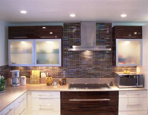 kitchen backsplash color combinations modern color