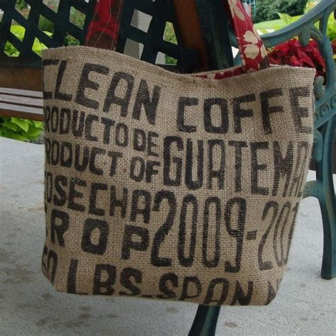 The Beau Soleil Reduce Recycle Renew Bag by Coffee Bag Tote Project For Tomorrows Monday Funday D I
