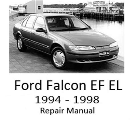 car service manuals pdf 1967 ford falcon navigation system ford falcon ef el 1994 1998 repair manual