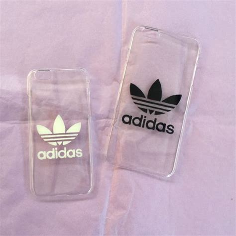 Adidas Iphone 6 Cover transparent iphone cover with adidas logo 5 6 by