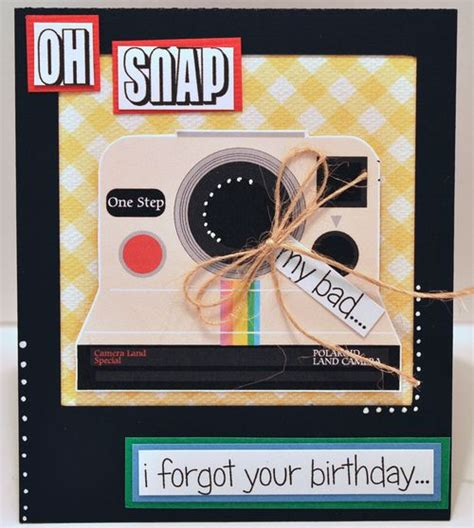 polaroid card template the cutting cafe polaroid and template and