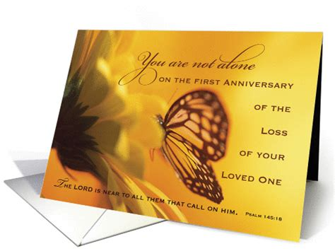 Wedding Anniversary After Of Spouse by 1st Anniversary Of Loved One Butterfly